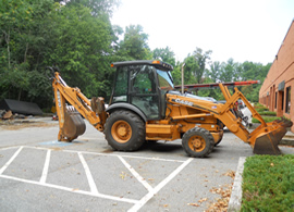 Backhoe | Grading Issues